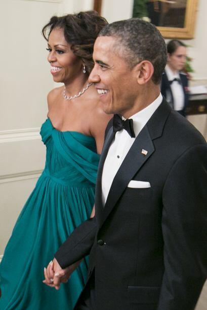 Michelle Obama se ha caracterizado por ser una de las mujeres más...