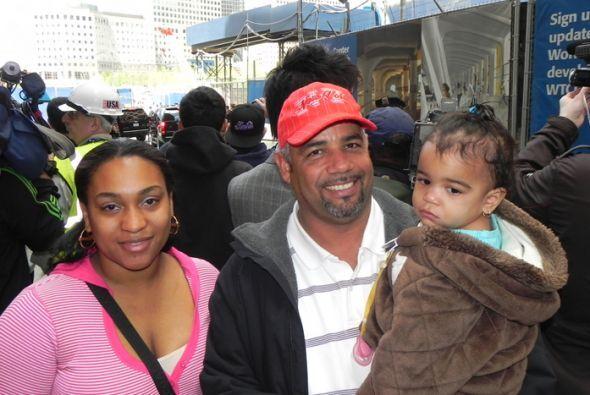 Félix Rodriguez y su familia nos contó que durante el ataque del 11 de S...