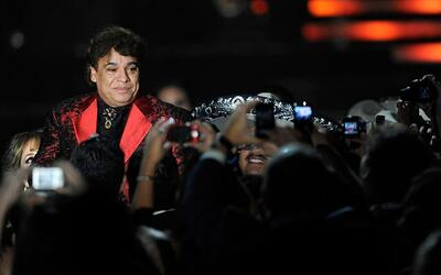 Juan Gabriel, durante una actuación en 2009 el Mandalay Bay Resor...