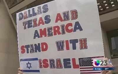 Comunidad judía se manifiesta en Dallas