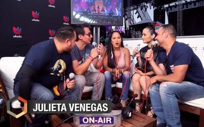 Julieta Venegas celebra el vivir en la frontera y lo que esto representa
