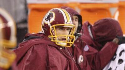 Kirk Cousins quiere la oportunidad de ser titular en la NFL (AP-NFL).