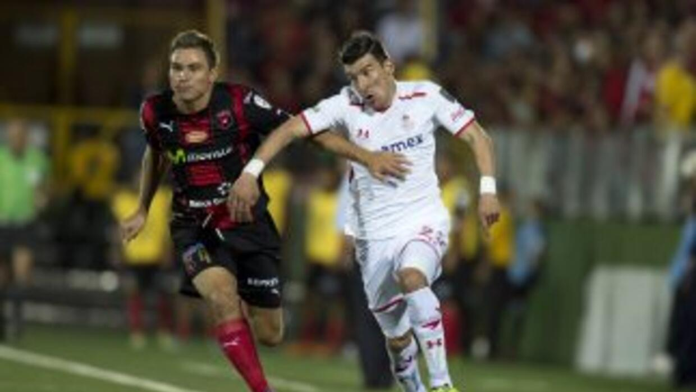 Toluca y Alajuenlense se ven el la vuelta de las semifinales de CONCACAF.