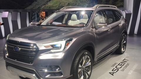 Video: La Subaru Ascent SUV Concept será la próxima gran utilitaria de S...