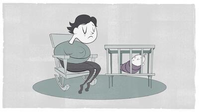 El estigma que rodea a la depresión postparto impide buscar ayuda.