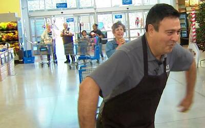 Así imitó Jorge Núñez a un guajolote para el concurso 'Gobble Games'