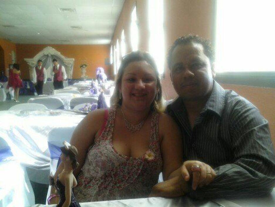 Alberto y Daysi nos compartieron así su amor.