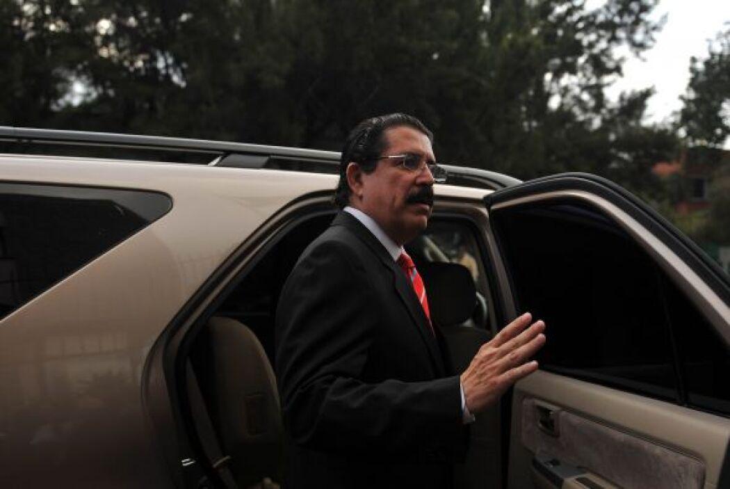 El exmandatario dijo la semana pasada que no regresa a Honduras porque t...