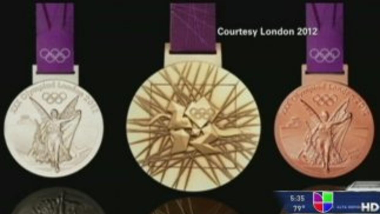 Ocho toneladas de oro, plata y bronce para las medallas
