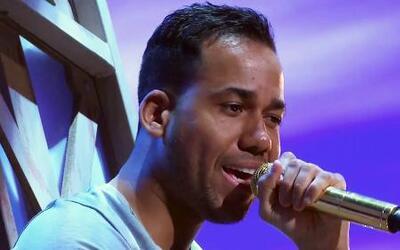 Romeo Santos en los ensayos de Premio lo Nuestro