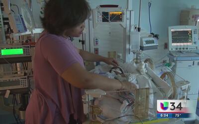 Bebé con padecimiento cardiaco recibe una segunda oportunidad