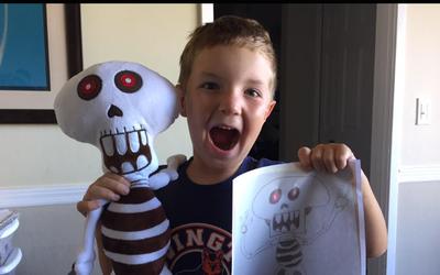 Dale vida a los dibujos de tus hijos