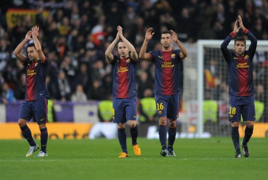 El Barcelona, que dejó descansar en Liga a su cerebro Xavi Hernández e i...