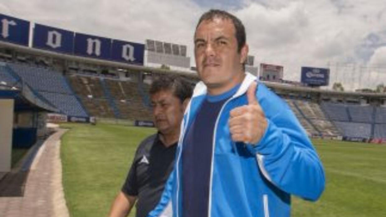 Cuauhtémoc Blanco jugará con el Puebla hasta la fecha dos del torneo.