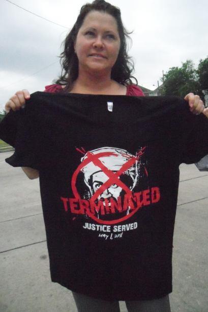Un grupo de entusiastas incluso mandó a hacer camisetas con la foto de O...