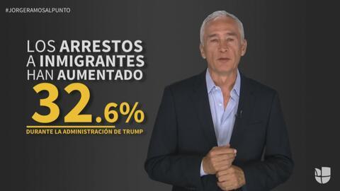 """Jorge Ramos: """"Trump dice que quiere deportar a gente mala, pero no está..."""