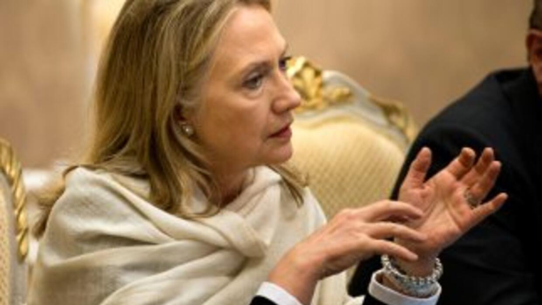 Hillary Clinton, señaló en Camboya que es necesario que Teherán se compr...