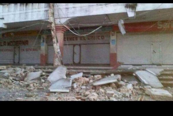 Daños considerables en San Marcos Guatemala, por sismo de 7.1&deg...