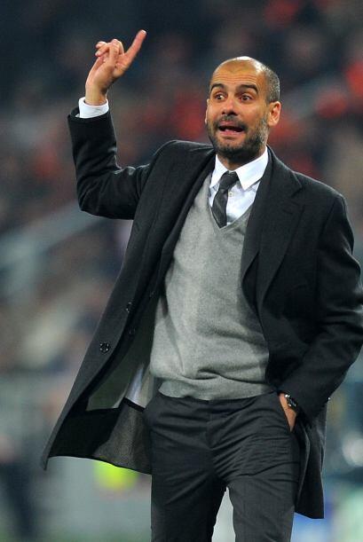 Guardiola sabía que estaba resuelta la situación y movi&oa...