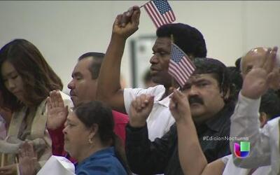 Nueva York, Los Ángeles y Chicago buscan ciudadanía para migrantes