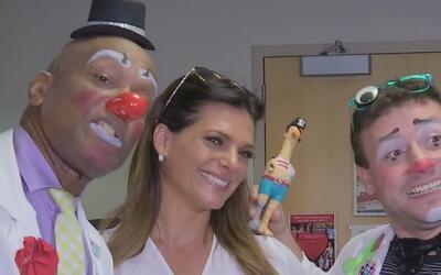 Bárbara recorrió hospital de niños de Miami