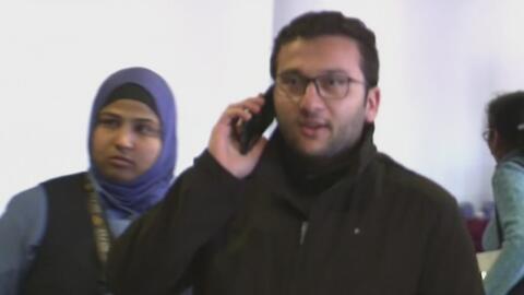 Doctor sirio que estuvo varado en aeropuerto de Emiratos Árabes regresó...