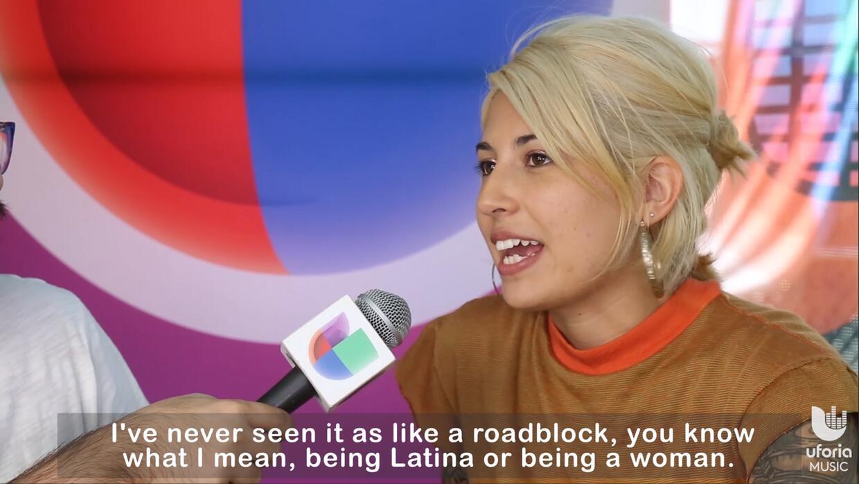 Entrevista con Jessica Hernandez en Riot Fest Chicago