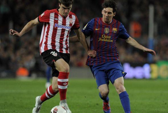 El primer tiempo terminó con ventaja para el Barcelona.