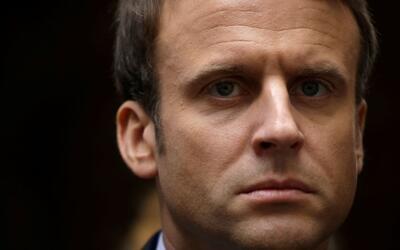 Emmanuel Macron, candidato presidencial de Francia