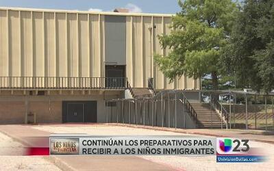 La comunidad no está preparada para albergar niños de la frontera