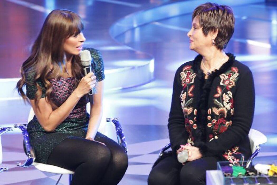 Galilea Montijo se dijo emocionada de poder trabajar al lado de Daniela...