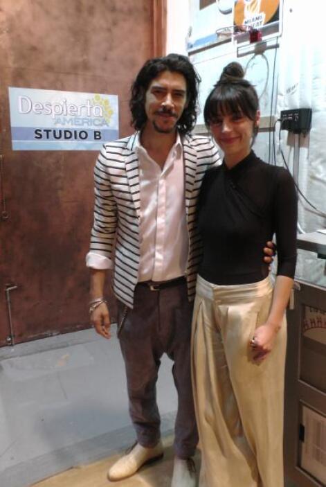 "Se trata de ""scar Jaenada e Ilse Salas, los protagonistas de la nueva pe..."