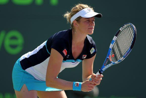 Ganadora del 1er Grand Slam del año, el Abierto de Australia, Clijsters,...