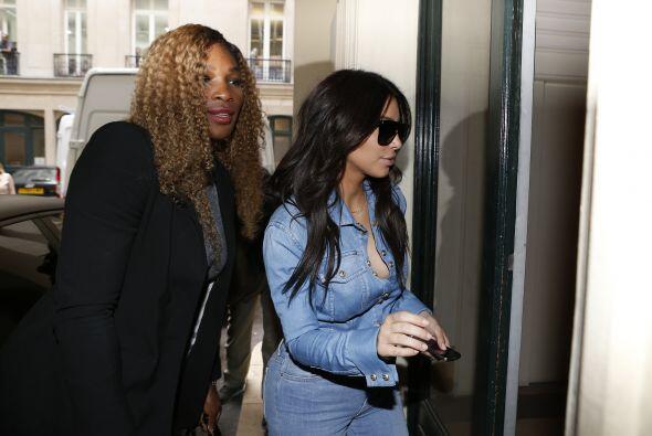Kim Kardashian se fue de shopping con Serena Williams y según rep...