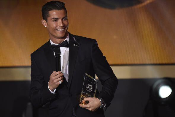 Obviamente, el gran ganador de la noche, Cristiano Ronaldo, tambi&eacute...