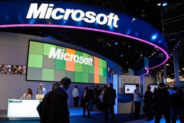 5. Microsoft Corp. incrementó su inversión en investigaci&...