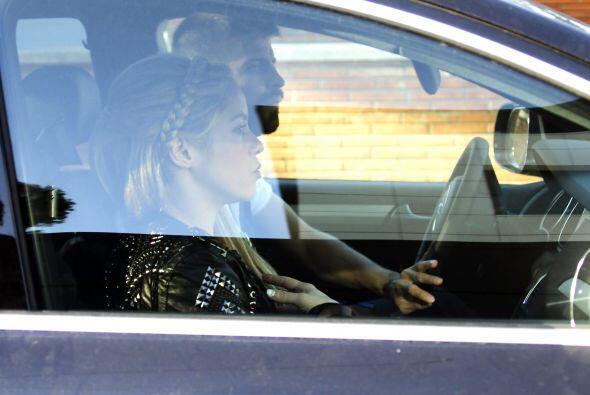 Shakira y Piqué llevaron al pequeño Milan a la fiesta de c...