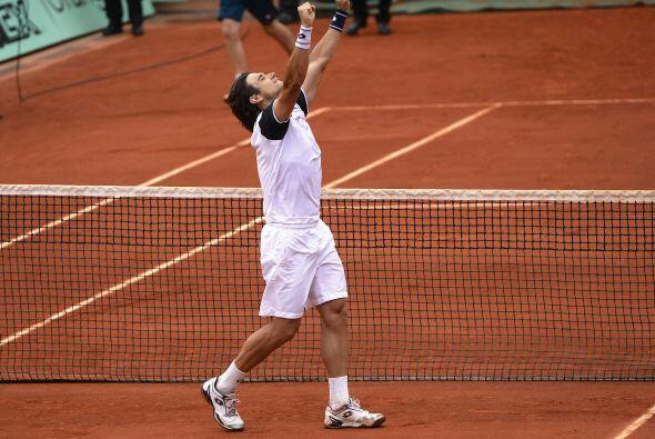 Ferrer logró finiquitar a Murray con parciales de 6-4, 6-7, 6-3 y...