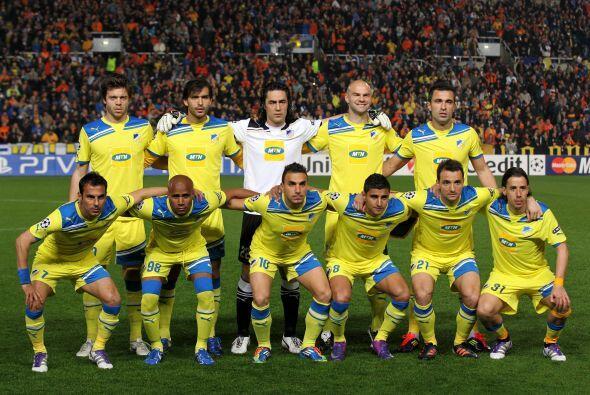 El APOEL chipriota se ha convertido en la cenicienta de este torneo.