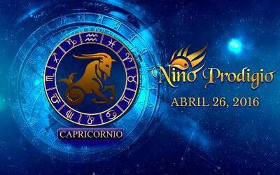 Niño Prodigio - Capricornio 26 de mayo, 2016