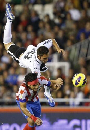 El Atlético se lanzó en busca del empate pero no tuvo fortuna.