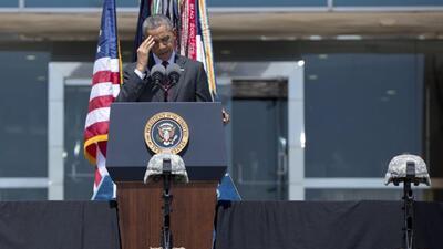 El presidente ofrece consuelo tras la tragedia en Fort Hood, TX.