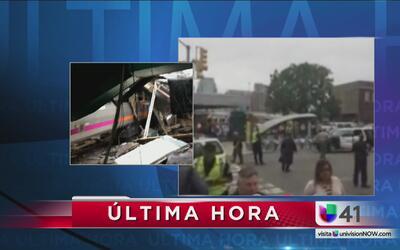 Equipos de rescate se unen a autoridades de Hoboken para ayudar tras el...