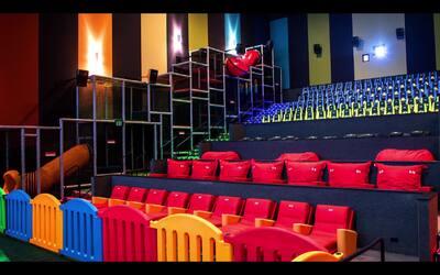 ¿Irías a un cine que tuvieras juego al interior de las salas?