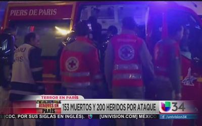 Atacantes en París detonaron chalecos con explosivos