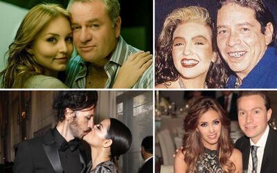 Las parejas más disparejas de los actores de novela