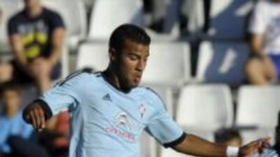 Rafinha hizo el gol del Celta ante Granada.
