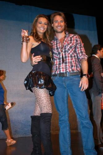 Los dos son argentinos y también fueron una de las parejas más conocidas...