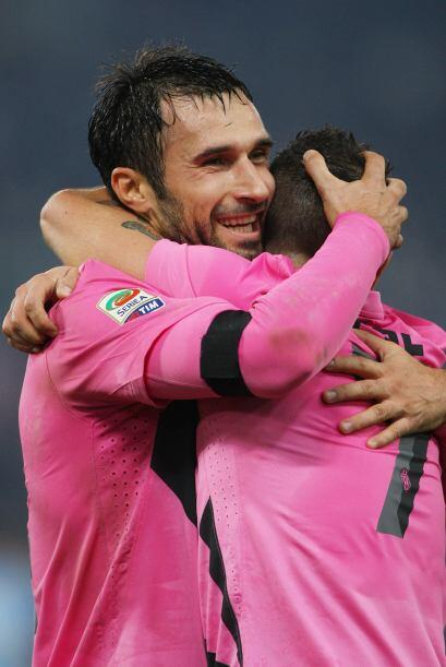 Ganó como visitante a la Lazio en el Estadio Olímpico de Roma, que le es...