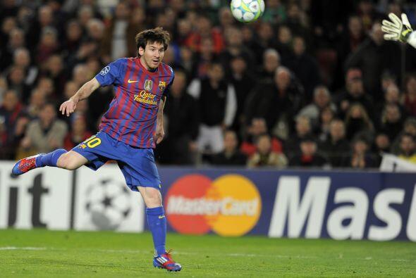 Leo es el primero en marcar cinco goles en un partido desde que existe l...